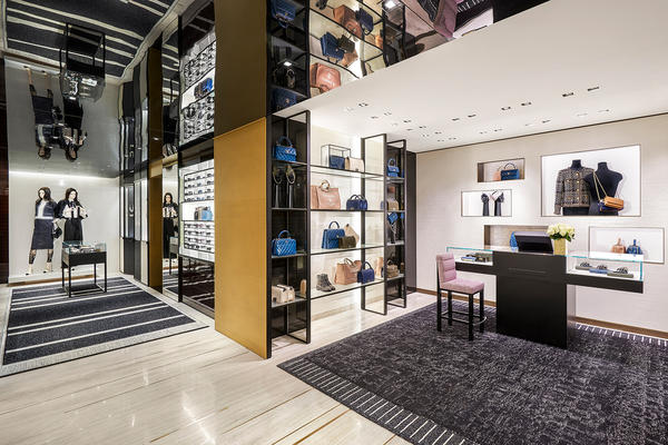 chanel stores revamped by architect peter marino