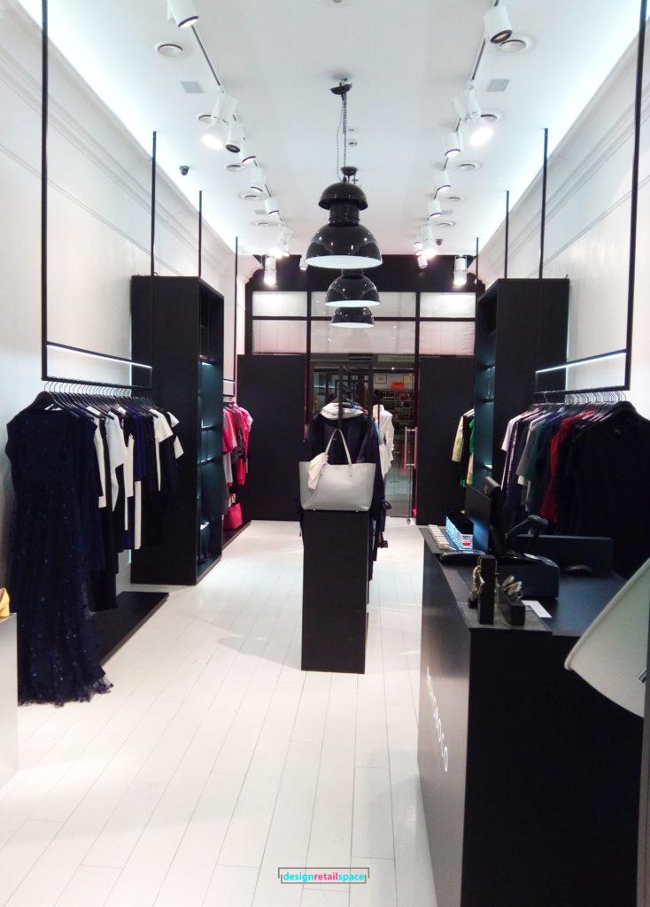 Bohoboco - Monochrome Fashion Boutique Interior