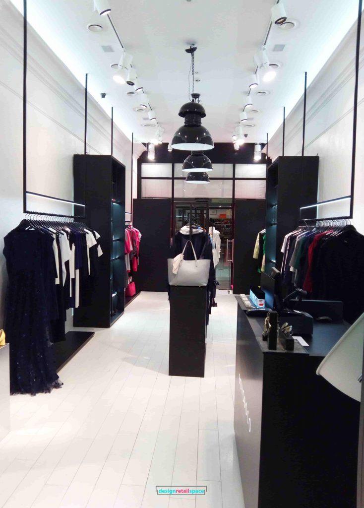 Bohoboco Monochrome Fashion Boutique Interior